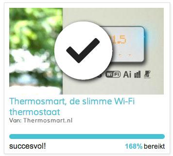 slimme thermostaat kopen zoals anderen? Koop de ThermoSmart hier!
