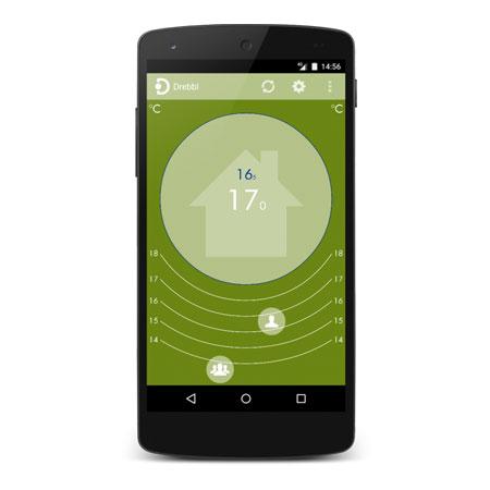 drebbl app met ThermoSmart