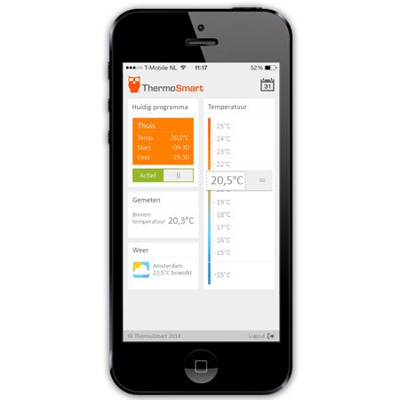 iphone app thermosmart