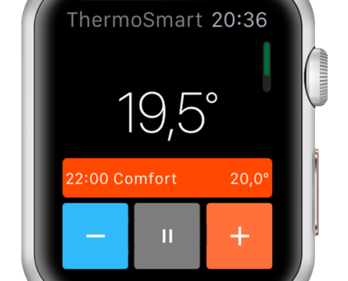 apple watch app thermosmart